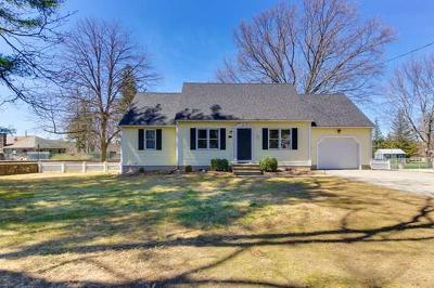 Hudson Single Family Home Under Agreement: 73 Brigham