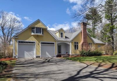 Sherborn Single Family Home Under Agreement: 51 Bogastow Brook Road