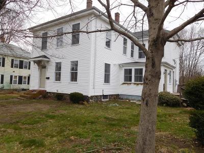Middleboro Multi Family Home Under Agreement: 85 Oak St