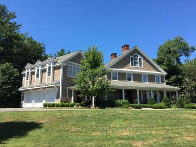 Norwell Single Family Home For Sale: 4 Clapp Brook Road