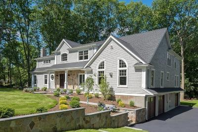 Wellesley Single Family Home Under Agreement: 95 Sagamore Rd