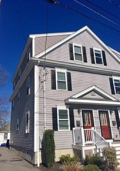 Waltham Condo/Townhouse Under Agreement: 61 Parmenter Road #1