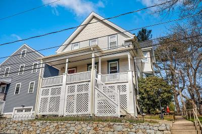 MA-Suffolk County Single Family Home Under Agreement: 43 Charles Street