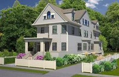 Brookline Condo/Townhouse Under Agreement: 161 Naples Rd #A