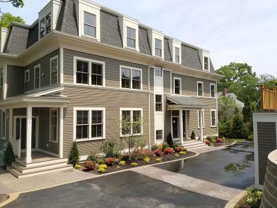 Brookline Condo/Townhouse Under Agreement: 33 Winthrop #1