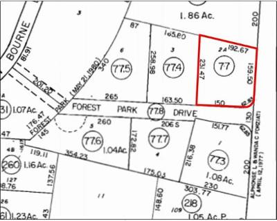 Bourne Residential Lots & Land For Sale: 568 Macarthur Blvd