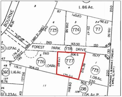 Bourne Residential Lots & Land For Sale: 3 Forest Park Dr