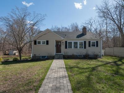 Needham Single Family Home Under Agreement: 1566 Great Plain Ave