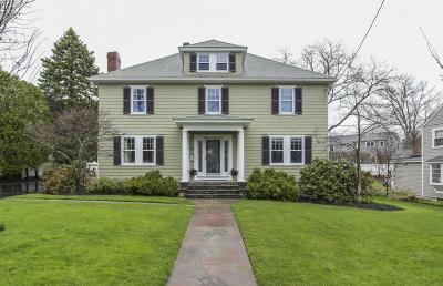 Needham Single Family Home Under Agreement: 243 Great Plain Ave