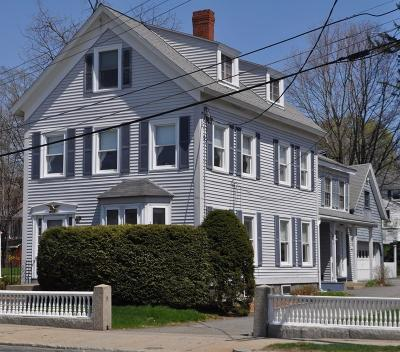 Wakefield Multi Family Home For Sale: 258 Main St