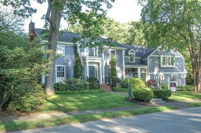 Wellesley Single Family Home Under Agreement: 48 Kenilworth Rd