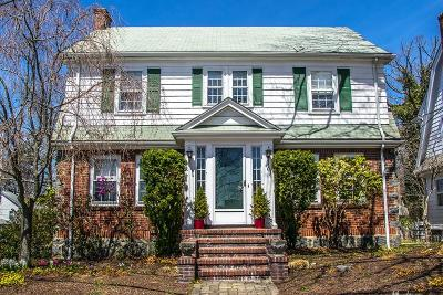 Brookline MA Single Family Home Under Agreement: $849,000