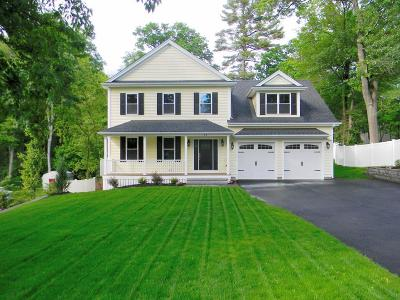 Billerica, Burlington Single Family Home Under Agreement: 24 Hilltop Dr