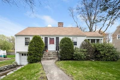 Newton Single Family Home For Sale: 116 Upland Ave