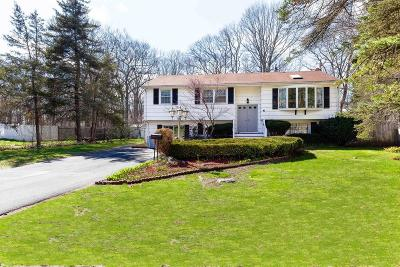 Randolph Single Family Home For Sale: 41 Fitch Ter