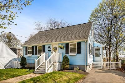Quincy Single Family Home Under Agreement: 10 Rhude St