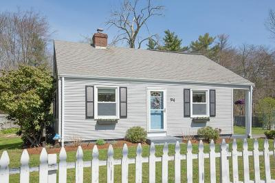 Rehoboth Single Family Home Under Agreement: 94 Winthrop St