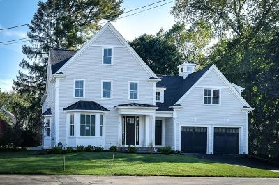 Wellesley Single Family Home For Sale: 5 Claflin Road