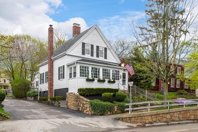 Hingham Single Family Home Contingent: 247 North St