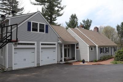 Sudbury Single Family Home Contingent: 309 Goodmans Hill Rd