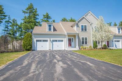 Middleboro Condo/Townhouse Contingent: 12 Sarah Reed Hunt Way #12