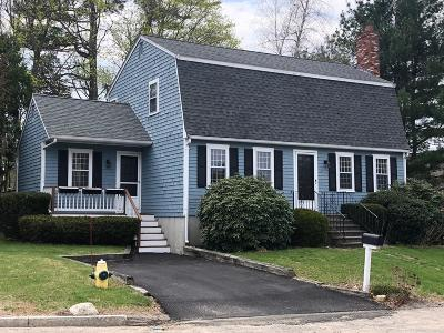 Cohasset MA Single Family Home For Sale: $539,000