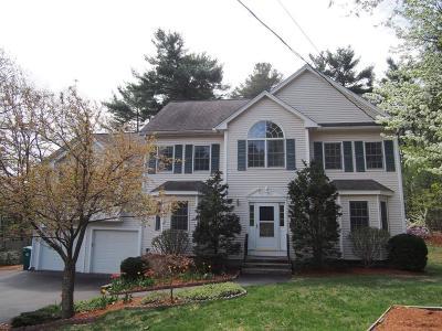 Billerica Single Family Home Contingent: 237 Allen Rd