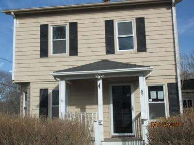 Mansfield Single Family Home For Sale: 87 Angell Street