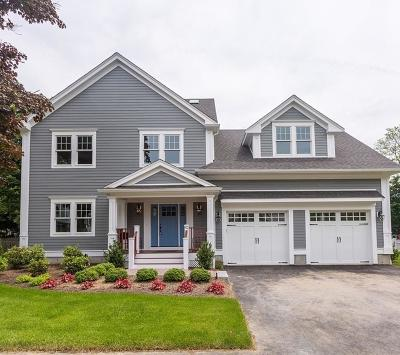 Needham Single Family Home For Sale: 42 Peacedale Rd