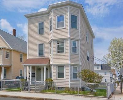 Somerville Multi Family Home Under Agreement: 334 Lowell St.