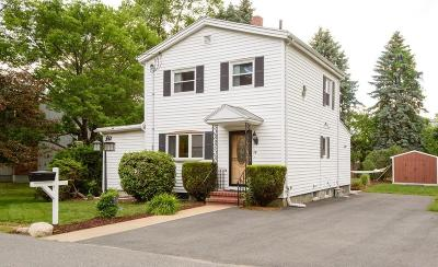 Saugus Single Family Home Under Agreement: 78 Walden Pond Ave