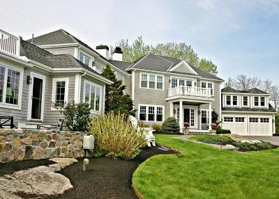 Cohasset MA Single Family Home For Sale: $2,450,000