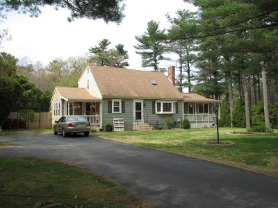 Middleboro Single Family Home Contingent: 6 Stone St