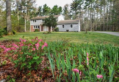Marshfield Single Family Home Under Agreement: 52 Flames Road