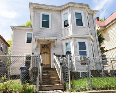 Boston Single Family Home For Sale: 75 Milton Ave