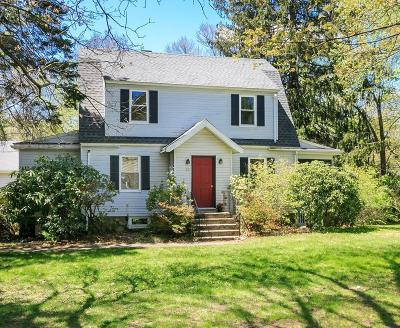 Needham Single Family Home Under Agreement: 17 Alder Brook Lane
