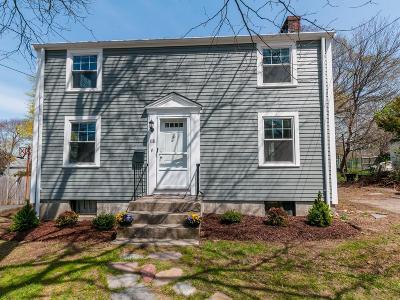 Braintree Single Family Home Under Agreement: 118 Peach St