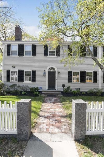 Dedham Single Family Home Under Agreement: 39 Court Street