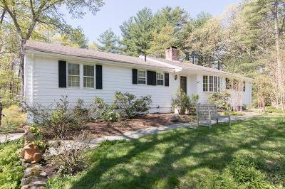 Sherborn Single Family Home For Sale: 24 Great Rock Road