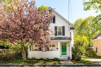 Arlington MA Single Family Home Under Agreement: $689,000