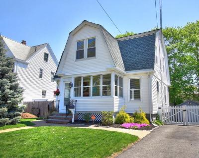 Boston Single Family Home Under Agreement: 44 Clifford Street