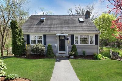 Waltham Single Family Home Under Agreement: 958 Trapelo Rd