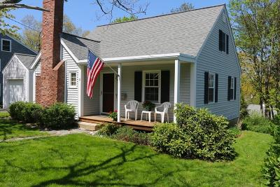 Hingham Single Family Home Under Agreement: 21 Governor Andrew Rd