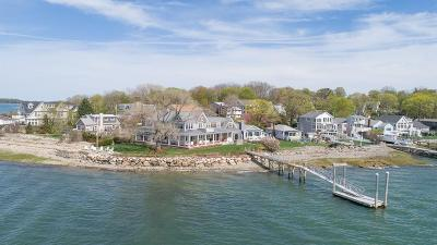 Hingham Single Family Home Under Agreement: 248 Wompatuck Road