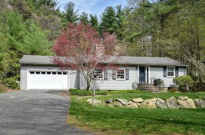 Sherborn Single Family Home Under Agreement: 13 Great Rock
