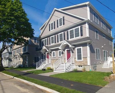Waltham Condo/Townhouse Under Agreement: 14 Gale St #2