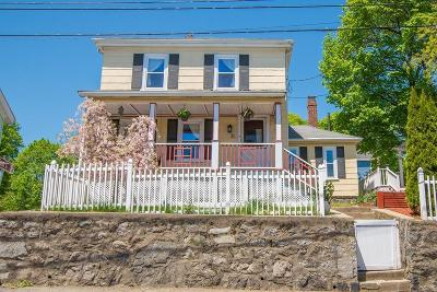 Dedham Single Family Home Under Agreement: 11 Belknap St
