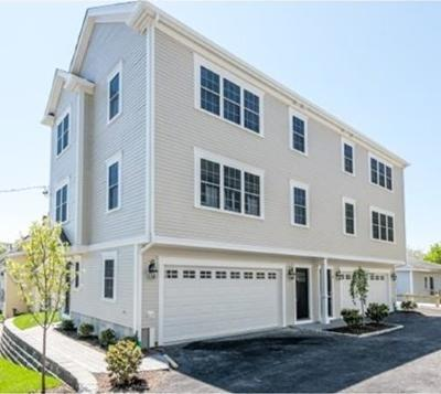 Quincy Condo/Townhouse Under Agreement: 25 Kidder #A