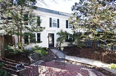 Cambridge MA Single Family Home Under Agreement: $1,000,000