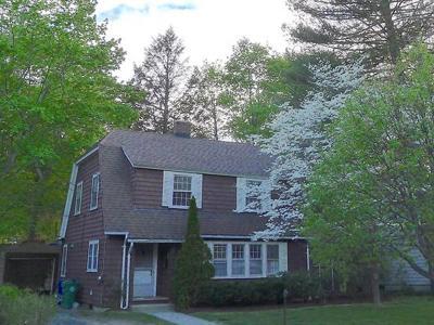 Newton Single Family Home Contingent: 36 Walter Street